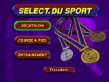 3DO Games: Decathlon Windows Select competition or training