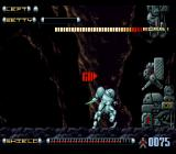 Genocide 2 SNES Area #1 ends in an armored checkpoint.