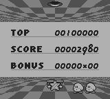 Kirby's Pinball Land Game Boy Statistics