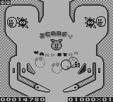 Kirby's Pinball Land Game Boy Each table is divided into several sections which each fill one screen and have their own pair of flippers