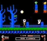The Addams Family NES Outside the moon is shining, and ghosts are thirsty for my blood...