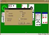 Microsoft Windows 98/98SE (included games) Windows Solitaire options