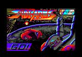 Side Arms Hyper Dyne Amstrad CPC Title screen