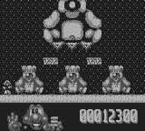 James Pond 2: Codename: RoboCod Game Boy The second boss: The teddy again, he only takes more hits this time.