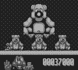 James Pond 2: Codename: RoboCod Game Boy The third boss: The teddy AGAIN! I'm not making this up.