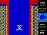 Mad Cars ZX Spectrum Early screen working through the race track stage
