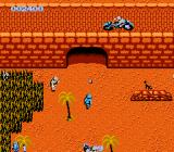Commando NES The motocycle man throws grenades
