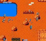 Commando NES Battle near a lake
