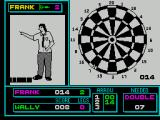 Pub Games ZX Spectrum Darts : Frank's just won all three games. The game does let you know when you need a double.