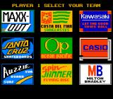 California Games NES Choosing a team