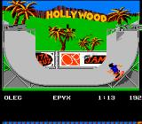 California Games NES Hollywood?
