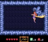 GS Mikami: Joreishi wa Nice Body SNES Zapping the boss with an electricity upgrade.