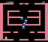 Bubble Bobble NES The baddies are coming...