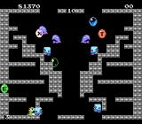 Bubble Bobble NES A level full of angry fish