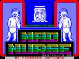 Mad Nurse ZX Spectrum Splash screen