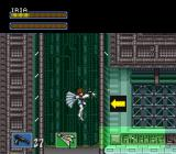 Hyper Iria SNES Floating with Iria's wing upgrade.