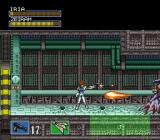 Hyper Iria SNES When you track down Zeiram he'll shoot fireballs and lasers at you while sticking his tentacles through the floor.