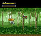 Hyper Iria SNES This time Iria is ambushed on her way to her target.