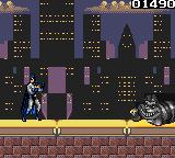 The Adventures of Batman & Robin Game Gear The boss of stage 1 is the Cheshire Cat