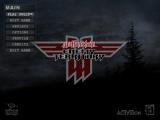 Wolfenstein: Enemy Territory Windows The title menu
