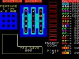 Jackpot ZX Spectrum The game commences with 200 credits