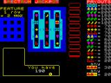 Jackpot ZX Spectrum First turn, down to 190 credits but at least you get to watch your money roll away