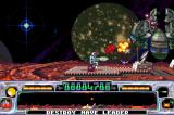 Super Dropzone: Intergalactic Rescue Mission Game Boy Advance When you shoot this boss, it opens up and retaliates.