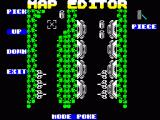 Canyon Warrior ZX Spectrum Built-in map editor