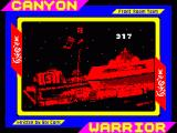 Canyon Warrior ZX Spectrum Loading screen with countdown