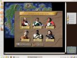 Claim to Power Windows Choosing which claimant to the throne to play. The game allows up to six human players.