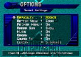 Triple Play: Gold Edition Genesis Game options