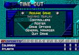 Triple Play: Gold Edition Genesis Time out during the game