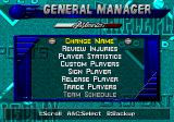 Triple Play: Gold Edition Genesis General manager options
