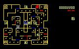 Mouse Trap Intellivision A game in progress