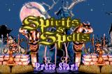 Spirits & Spells Game Boy Advance Title screen