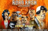 Road Rash: Jailbreak Game Boy Advance Title screen