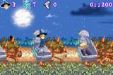 Spirits & Spells Game Boy Advance Skeletons attacking from the grave