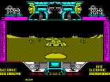Mach 3 ZX Spectrum When alien ships are dead ahead they can be hard to see so keep shooting