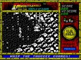 Indiana Jones and the Temple of Doom ZX Spectrum About to get up the ladder and the bad guys get up and catch me!