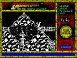 Indiana Jones and the Temple of Doom ZX Spectrum That looks like the end