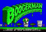 Boogerman: A Pick and Flick Adventure Genesis title screen