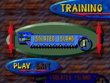 Knuckles' Chaotix SEGA 32X There is a training mode available.