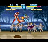 Makeruna! Makendō 2 SNES Cast as an extra in the Four Seasons of Beatdown.