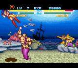 Makeruna! Makendō 2 SNES You think you can avoid the uppercut, but that's a mistake.