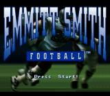 Emmitt Smith Football SNES Title Screen