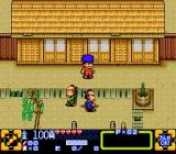 Ganbare Goemon 3: Shishi Jūrokubee no Karakuri Manji-gatame SNES In town, at the start of a new game