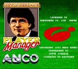 Kevin Keegan's Player Manager SNES Title Screen