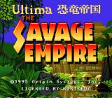 Ultima: Kyouryuu Teikoku Title Screen