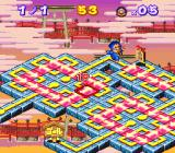 Soreyuke Ebisumaru! Karakuri Meiro - Kieta Goemon no Nazo!!  SNES In one of the maze games