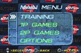 Mat Hoffman's Pro BMX Game Boy Advance Main menu